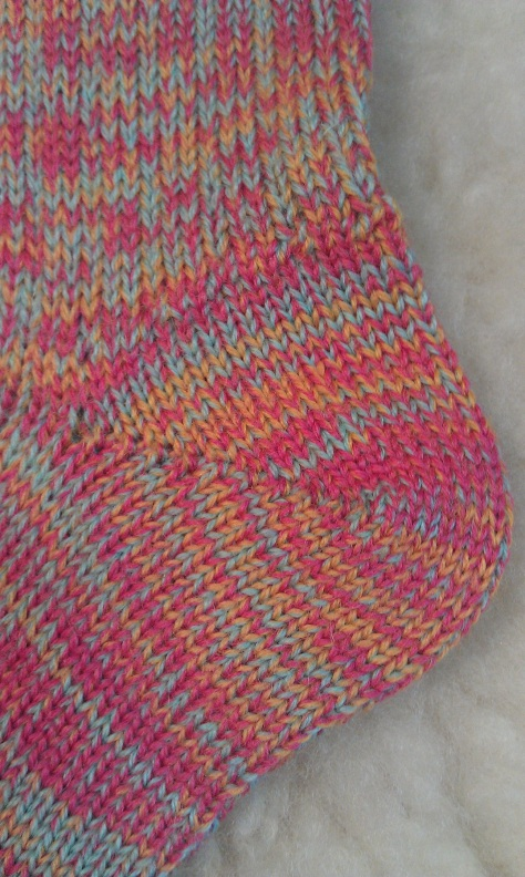 Wool socks #3, detail.