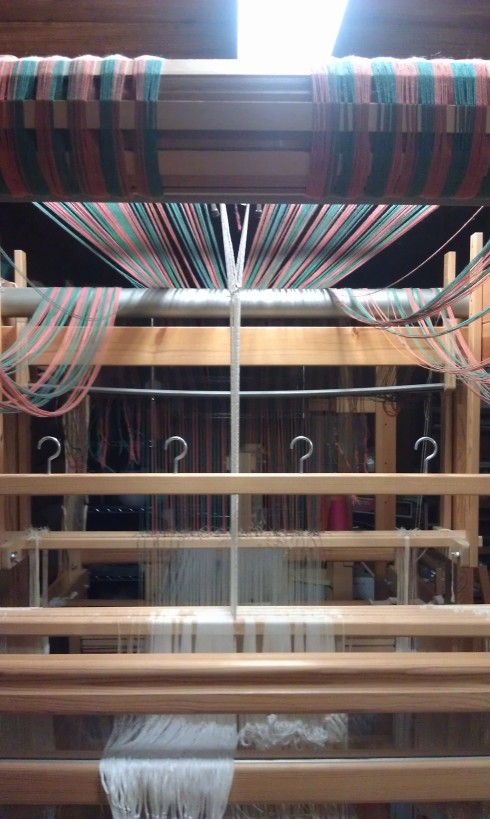 Single unit drawloom with new light fixture overhead!