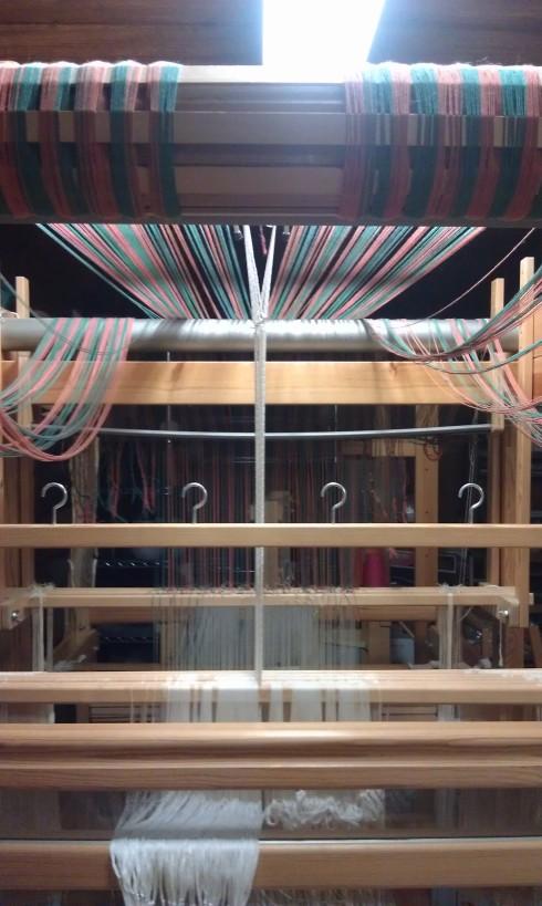 Single unit drawloom with new light fixture overhead!
