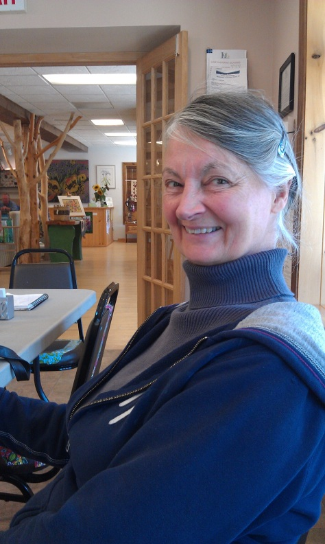 Carol Stone, Weaving Study Group member.