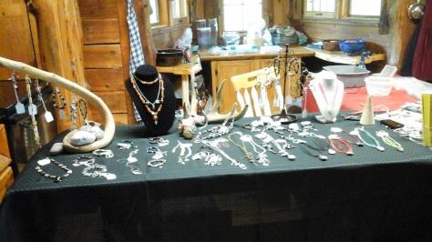 Sarah's jewelry.