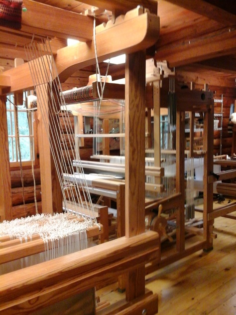 View from the CM loom.
