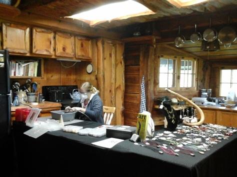 Sarah Zindel, Celtic Wolf Studio, jewelry artist.