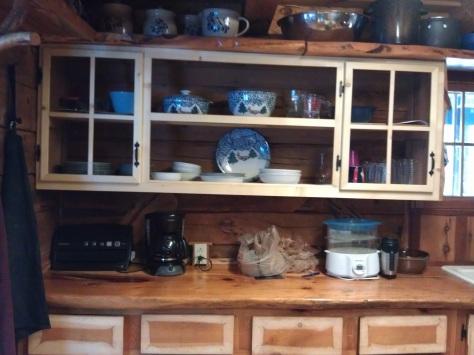 Kitchen updating in progress.
