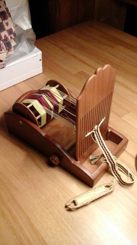 Tape loom by J.K. Seidel.